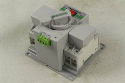 Intelligent Mini 63A 3-Phase Dual Power Automatic Transfer Switch Q3R-63 New