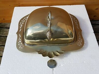 Vintage Butter Dish possible silver plated. 1926-1936.