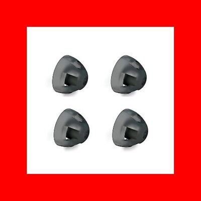 ☆PACK 4 RESOUND SUREFIT OPEN DOMES-LARGE(10mm)FITS LiNX2+ENYA RIC,BTE,OPEN TUBE☆
