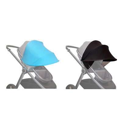 Baby Stroller Sun Visor Carriage Sun Shade Canopy Cover for Prams Stroller  G4U3