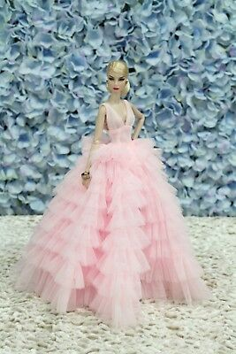 Gown-Outfit-Dress-Fashion-Royalty-Silkstone-Barbie-Model-Doll-FR by t d