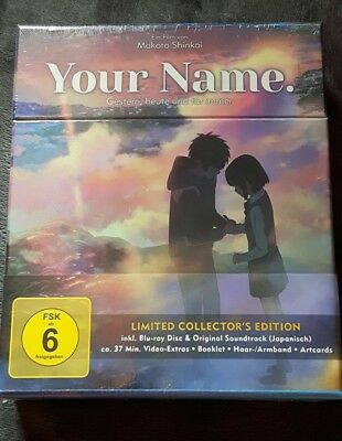 Anime Your Name Limited Collector Edition NEU!