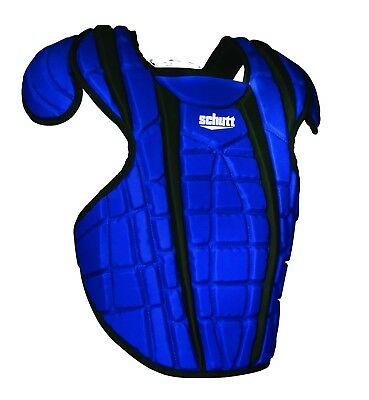 (41cm , Black/Royal) - Schutt Sports Scorpion 2.0 Chest Protector. Free Delivery