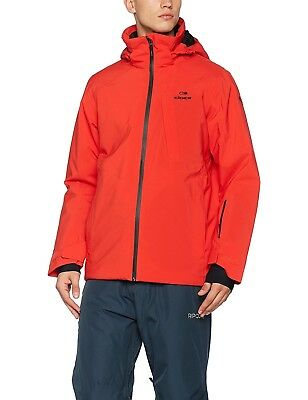 (Medium, red) - Eider eiv4117 Men's Ski Jacket, Mens, EIV4117. Huge Saving