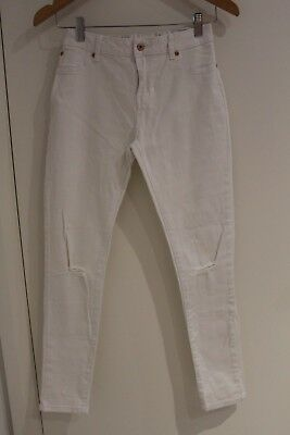 Girls Seed Teen White Skinny Jeans  *** Size 14 ***