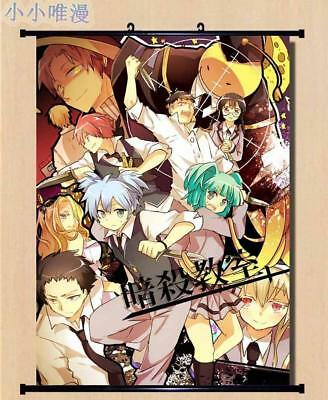 Assassination Classroom Ansatsu Kyōshitsu Home Decor poster Wall Scroll 40*60cm
