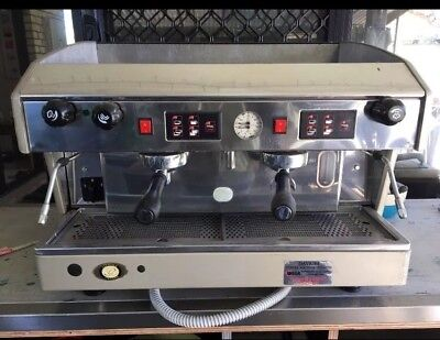 Pre owned 2 Group Wega atlas Commercial Coffee Machine