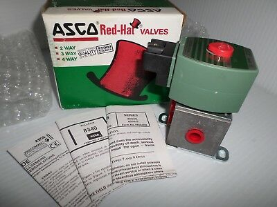"*NEW IN BOX*  ASCO OFKP8340G1 SOLENOID VALVE 1/4"" 120Vac"