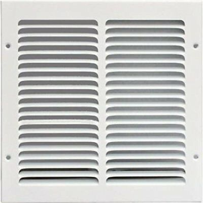 """10""""w X 10""""h Steel Return Air Grilles - Sidewall and Cieling - HVAC DUCT COVER -"""