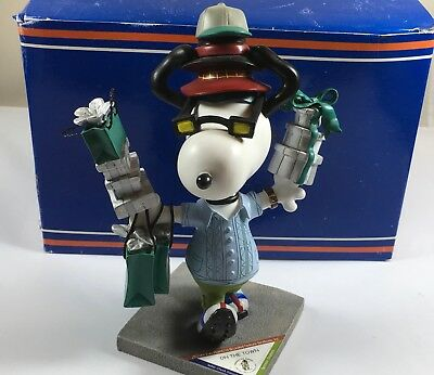 """SNOOPY PEANUTS ON PARADE #8401 WESTLAND GIFTWARE """"On the Town"""""""