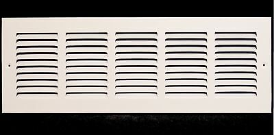 """20""""w X 8""""h Steel Return Air Grilles - Sidewall and Cieling - HVAC DUCT COVER -"""