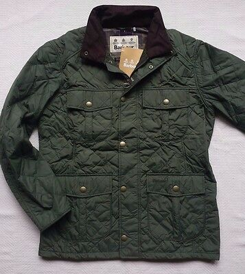 Barbour Explorer Men's Quilted Jacket - Mid Olive, Size M,  XL   MSRP $249