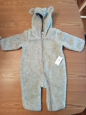 Baby Gap Sherpa Fleece bear suit, hooded sherpa suit for baby, 3-6 month winter