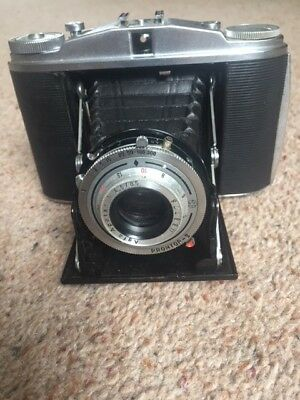 Agfa Isolette II -Vintage 1950's  Folding Camera complete with leather case