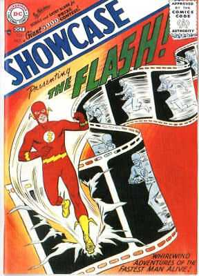 Showcase 4 Flash Custom Made Comic With Cover And REPRINT