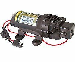 Fimco 5275086 High Flo 12 Volt Diaphragm Sprayer Pump 35 PSI Max 1.0 GPM 4 Amps
