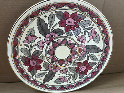 Charlotte Rhead Charger Plate, Crown Ducal Pattern 6778