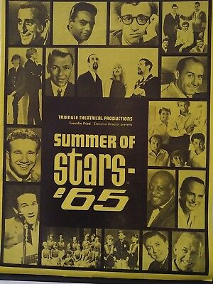 The Beatles- Summer of 65 Show at White Sox Park Chicago 20th August Programme