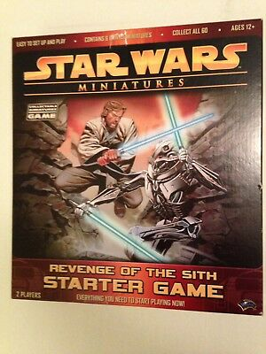 Star Wars Miniatures Revenge of the Sith Starter Game 27 Figures