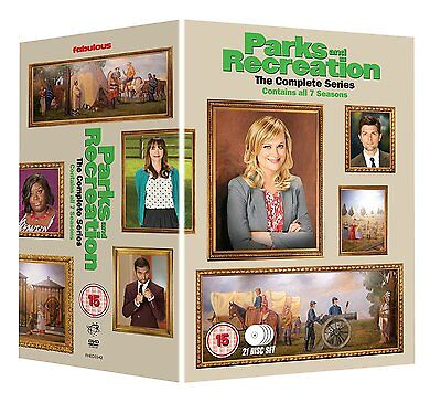 Parks And Recreation . The Complete Series . Seasons 1 2 3 4 5 6 7 . 21 DVD NEU