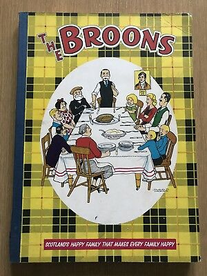 The Broons 1959 Rare Comic Annual In Very Good Condition