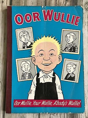 Rare Oor Wullie 1966 Comic Annual in Good Condition