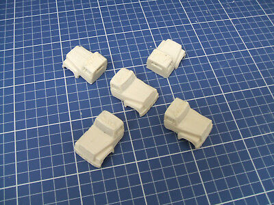 """1/87 """"ho"""" Scale  - Lot Of 5 Ford Ltl 9000 Hollow Truck Cab"""