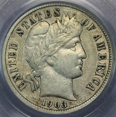 1903 S Barber Silver Dime PCGS XF40 - Scarce Date - *DoubleJCoins* 123-11