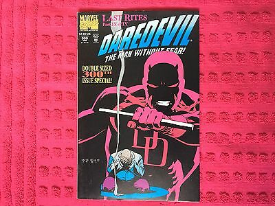 DareDevil #300 Last rights 4 of 4. Special double sized 300th issue 🔑 Jan 1992