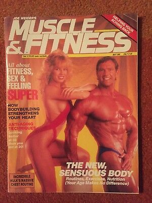 Muscle And Fitness Magazine 1989