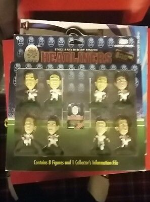 Vintage Corinthian Headliners England Rugby 1996 8 Player Pack