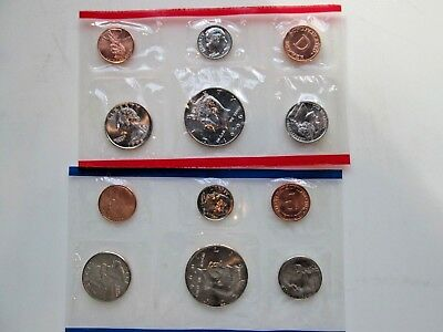 Lot of Two: 1996 P and D US Mint Sets Uncirculated