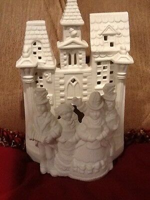 Party Lite Village Carolers Tea Light - P0204 - No Box