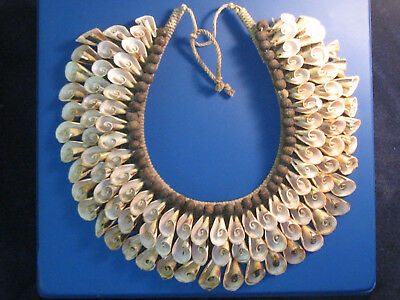 Shell Necklace Indonesia New Guinea Vintage Authentic Currency Ideal Puka Lovers