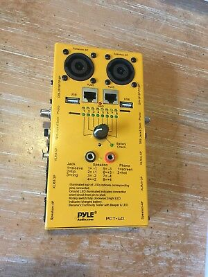 Pyle PCT40 Cable Tester