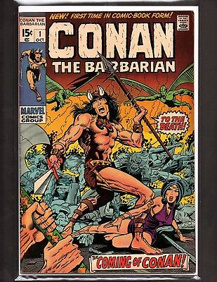 CONAN THE BARBARIAN #1 1970 Marvel BARRY SMITH 1st Appearance of Conan & KULL