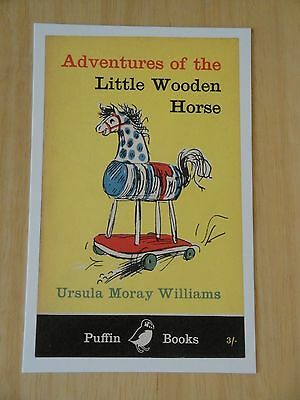PUFFIN POSTCARD ~ THE INCREDIBLE ADVENTURES OF PROFESSOR BRANESTAWM ~ 1948 ~ NEW