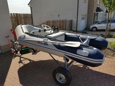 Honwave T32 inflatable boat speed fishing 15hp
