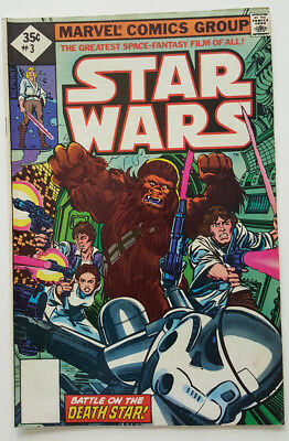 Star Wars #3 Reprint 1977 Marvel Comics in FN/VF Condition