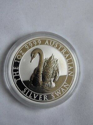 2018 .9999 Australian Silver Swan Coin *ONLY 25,000 MINTED*