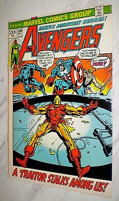 Avengers #106 NM/MT 9.8 White pages Unrestored 1972 Marvel Bronze age
