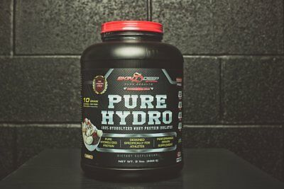 5Lb Hydrolyzed Protein | Isolate | 63 Servings | 32G Protein | Stevia Sweetened