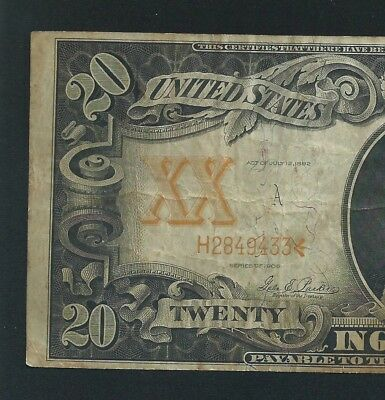 1906 $20 Gold Certificate   <<< Affordable >>> Cheapest On Ebay
