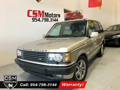 2002 Land Rover Range Rover HSE Wagon 4 Dr. 4x4 Automatic