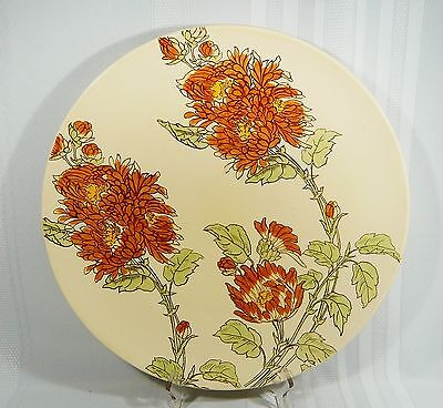 "LARGE Vintage D5330  ROYAL DOULTON 15"" Charger Platter Wall Plate CHRYSANTHEMUM"