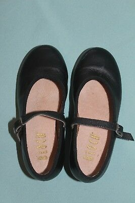 Dance - Bloch Girls Size 10 Black Tap Shoes - Great Condition