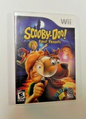 Scooby-Doo First Frights (Nintendo Wii, 2009)    FAST SHIPPING !!!!