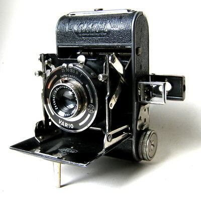 Vintage Zeh Feca Goldi 127 Folding Film Camera