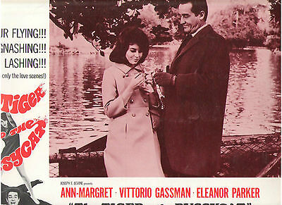 The Tiger And The Pussycat Ann Margret Vittorio Gassman Original Lobby Card #2