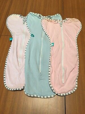 Love To Dream Small Size Swaddles X 3